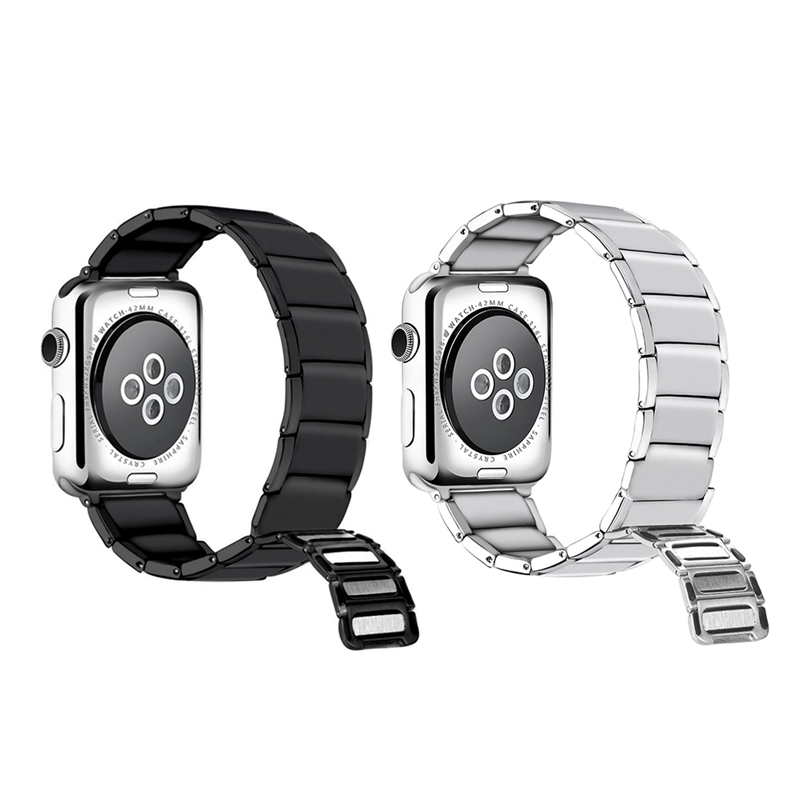 Strap-for-Apple-Watch-Band-Apple-Watch-4-3-2-1-Iwatch-Band-42Mm-44Mm-Men-Br-P9H7 thumbnail 17