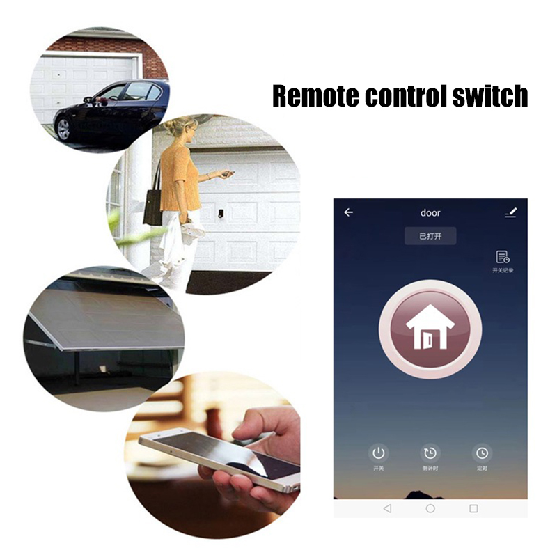 Garage-Door-Voice-Control-Smart-Switch-Garage-Door-WIFI-Switch-E2O6 thumbnail 8