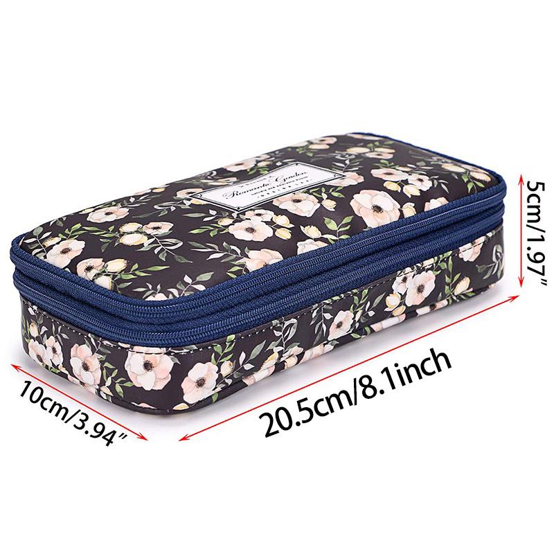 Bon208-Estuche-de-LaPices-con-Compartimentos-Florales-Doble-Capa-de-Alta-Capaci miniatura 13