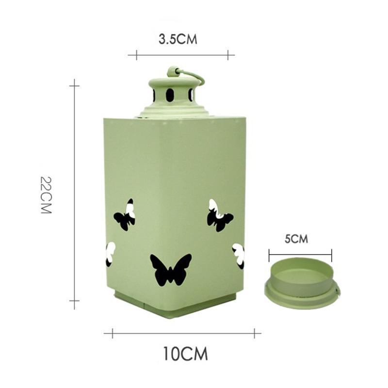 Fashion-Iron-Candlestick-Wall-Candle-Holder-Candlestick-Hanging-Lantern-V9V1 thumbnail 12