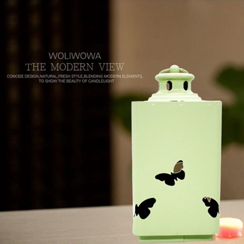 Fashion-Iron-Candlestick-Wall-Candle-Holder-Candlestick-Hanging-Lantern-V9V1 thumbnail 17