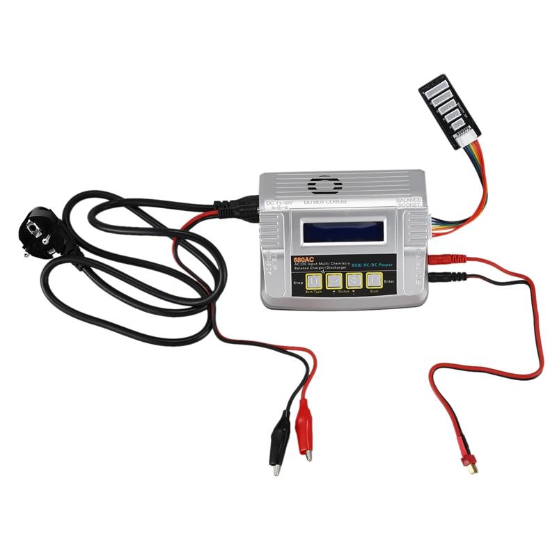 680AC-80-Watt-6A-AC-DC-RC-Akku-Balance-LadegeraeT-EntladegeraeT-fuer-Spielzeug-K8B9 Indexbild 9
