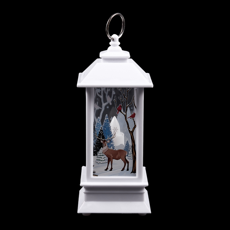 Christmas-LED-Glow-Flame-Candlestick-Wind-Light-Decorative-Ornaments-Z4X8 miniature 4