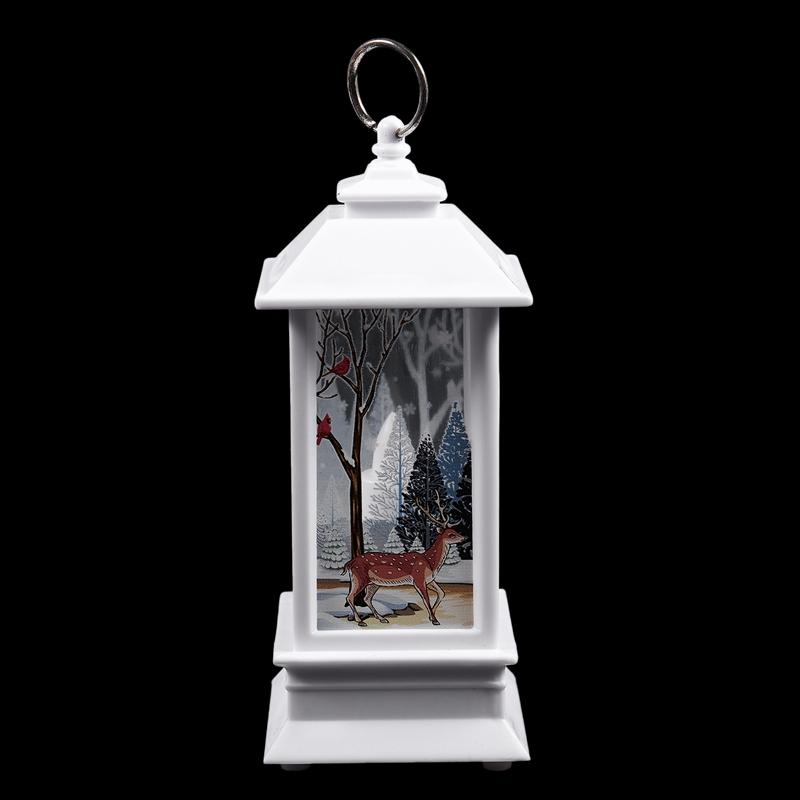 Christmas-LED-Glow-Flame-Candlestick-Wind-Light-Decorative-Ornaments-Z4X8 miniature 5