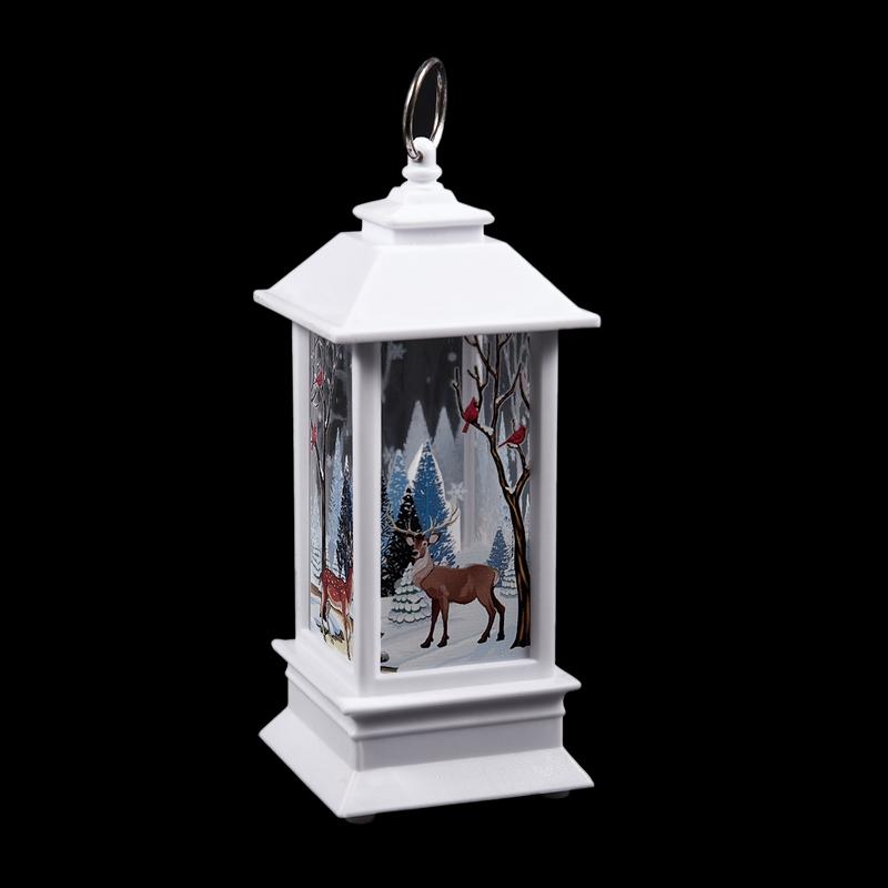 Christmas-LED-Glow-Flame-Candlestick-Wind-Light-Decorative-Ornaments-Z4X8 miniature 7
