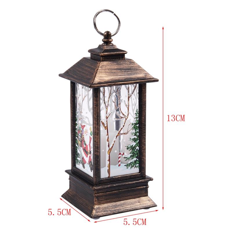 Christmas-LED-Glow-Flame-Candlestick-Wind-Light-Decorative-Ornaments-Z4X8 miniature 13