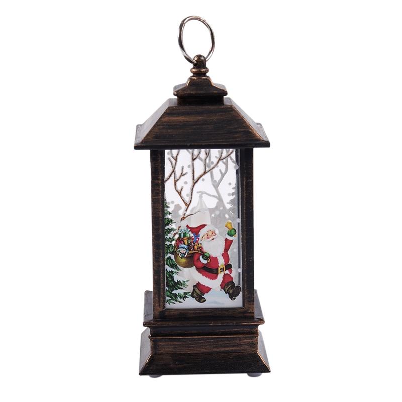 Christmas-LED-Glow-Flame-Candlestick-Wind-Light-Decorative-Ornaments-Z4X8 miniature 14