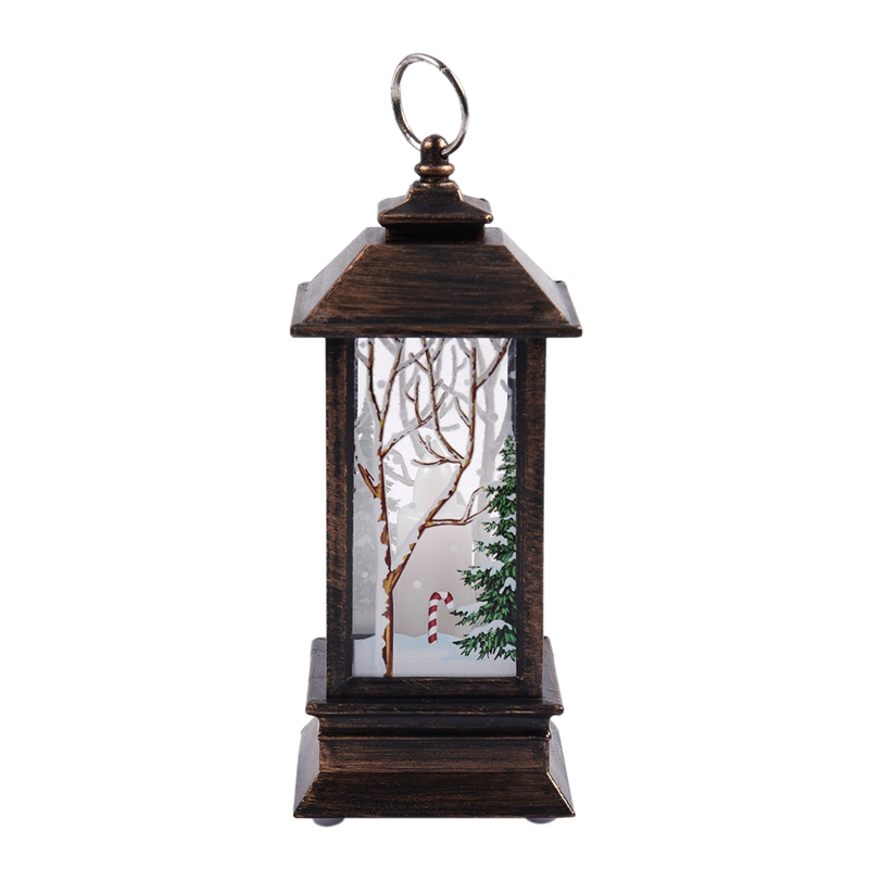 Christmas-LED-Glow-Flame-Candlestick-Wind-Light-Decorative-Ornaments-Z4X8 miniature 15