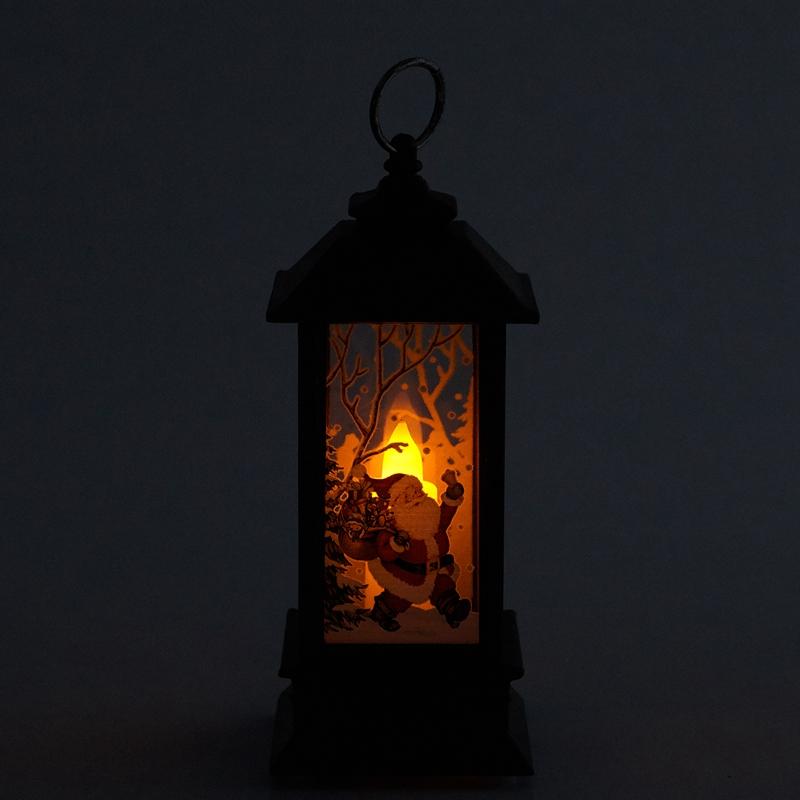 Christmas-LED-Glow-Flame-Candlestick-Wind-Light-Decorative-Ornaments-Z4X8 miniature 18