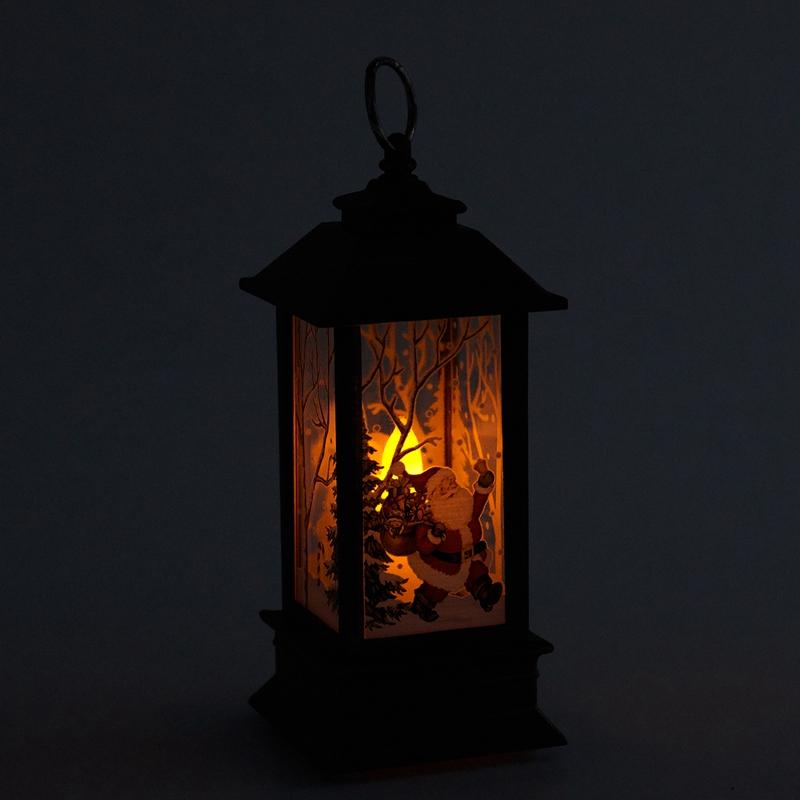 Christmas-LED-Glow-Flame-Candlestick-Wind-Light-Decorative-Ornaments-Z4X8 miniature 21