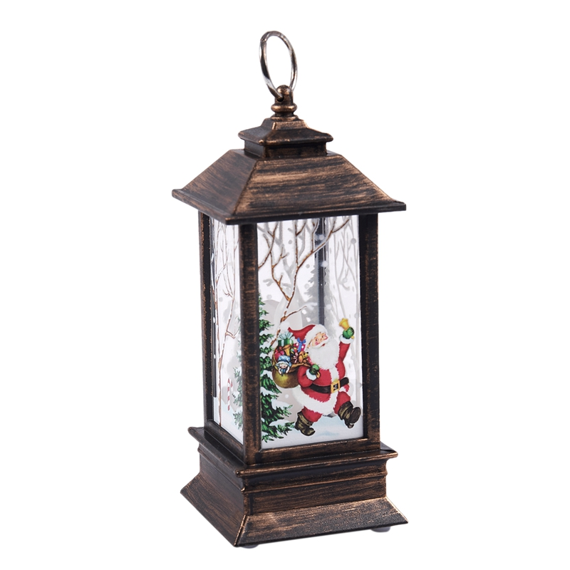 Christmas-LED-Glow-Flame-Candlestick-Wind-Light-Decorative-Ornaments-Z4X8 miniature 12