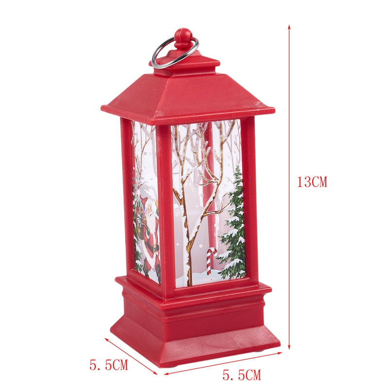 Christmas-LED-Glow-Flame-Candlestick-Wind-Light-Decorative-Ornaments-Z4X8 miniature 23