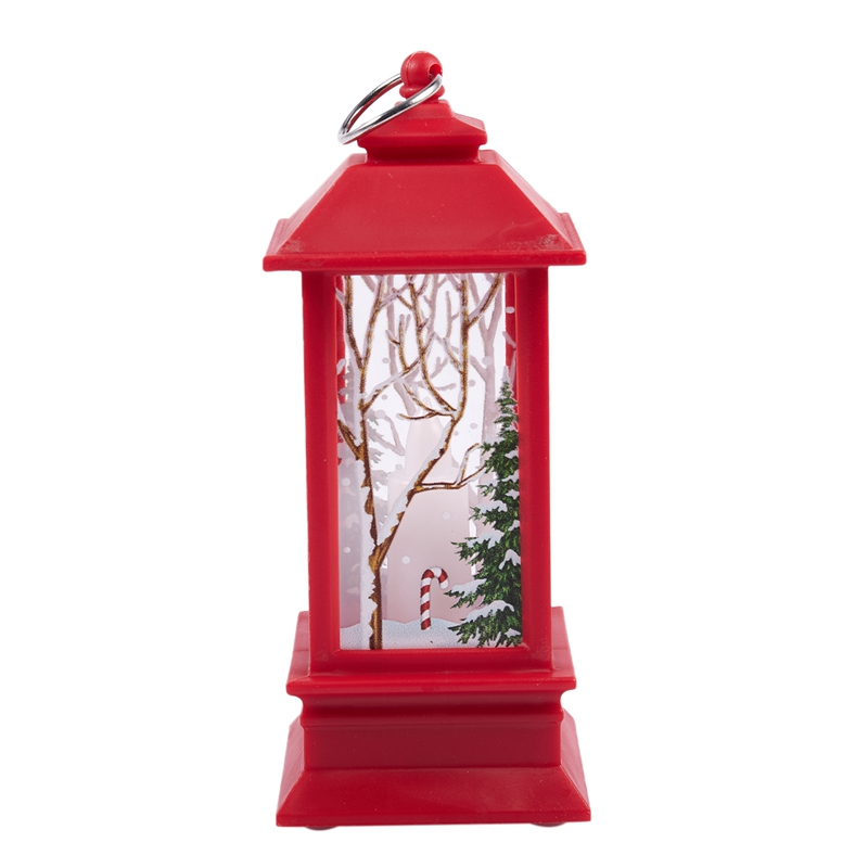 Christmas-LED-Glow-Flame-Candlestick-Wind-Light-Decorative-Ornaments-Z4X8 miniature 25