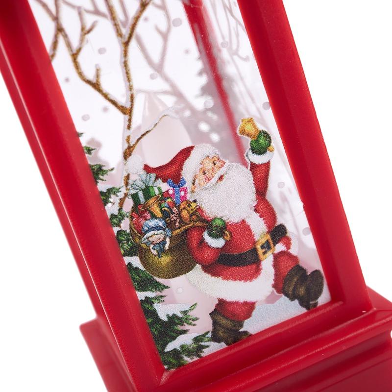 Christmas-LED-Glow-Flame-Candlestick-Wind-Light-Decorative-Ornaments-Z4X8 miniature 26
