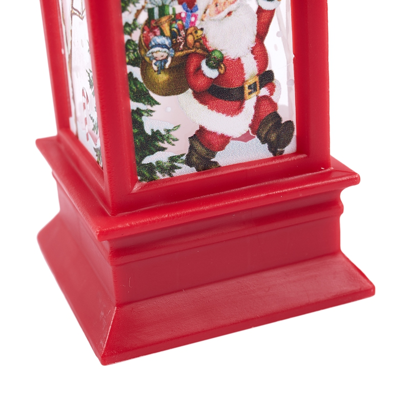 Christmas-LED-Glow-Flame-Candlestick-Wind-Light-Decorative-Ornaments-Z4X8 miniature 28