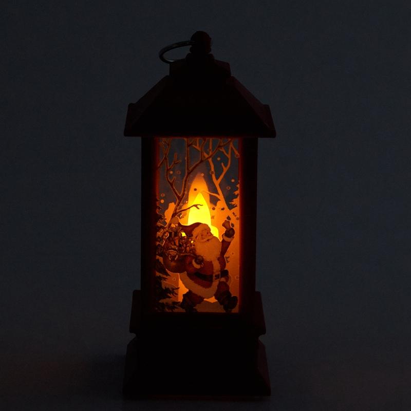 Christmas-LED-Glow-Flame-Candlestick-Wind-Light-Decorative-Ornaments-Z4X8 miniature 31
