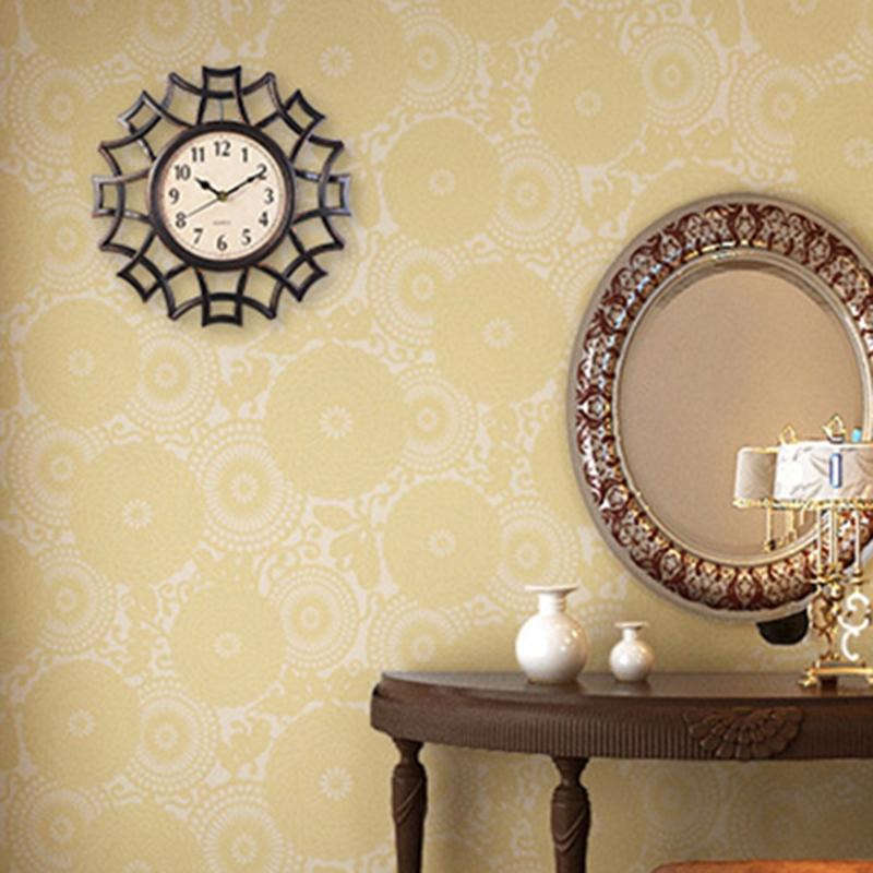 Abstrait-Horloge-Murale-Nordic-Vintage-Chiffre-GeOmeTrique-Horloge-Murale-Q-T7E1 miniature 3