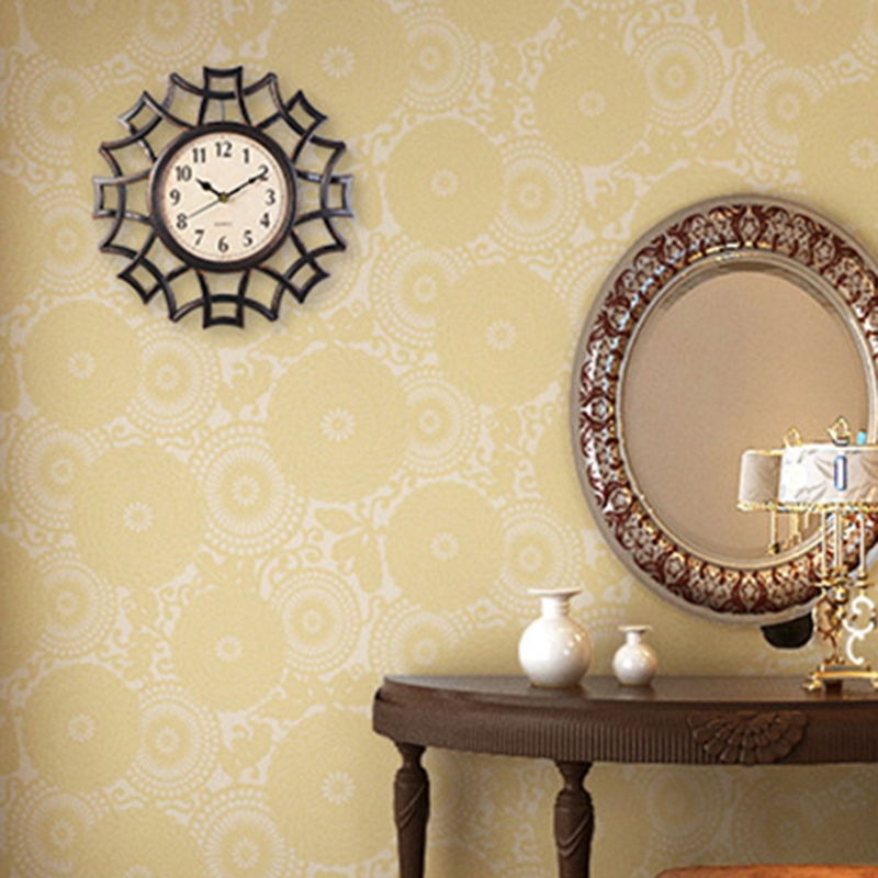 Abstrait-Horloge-Murale-Nordic-Vintage-Chiffre-GeOmeTrique-Horloge-Murale-Q-T7E1 miniature 12