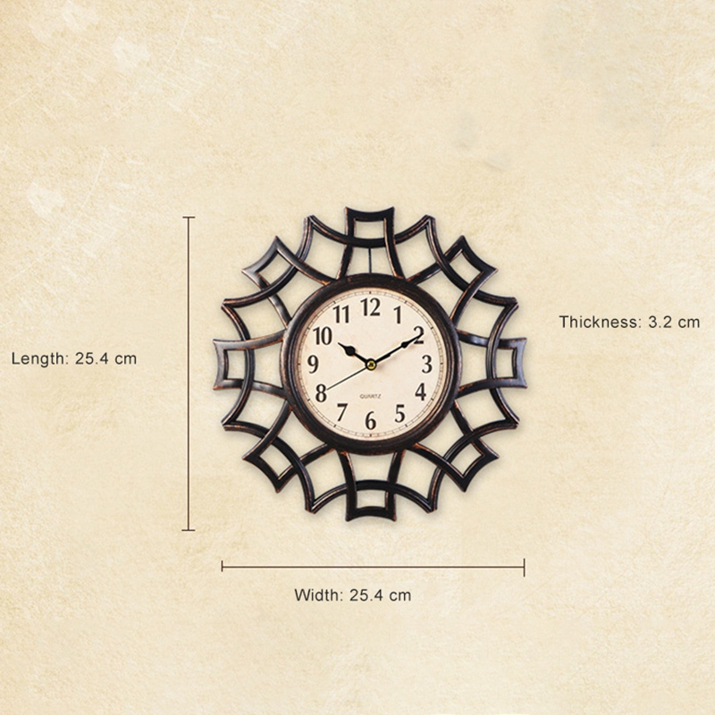 Abstrait-Horloge-Murale-Nordic-Vintage-Chiffre-GeOmeTrique-Horloge-Murale-Q-T7E1 miniature 14