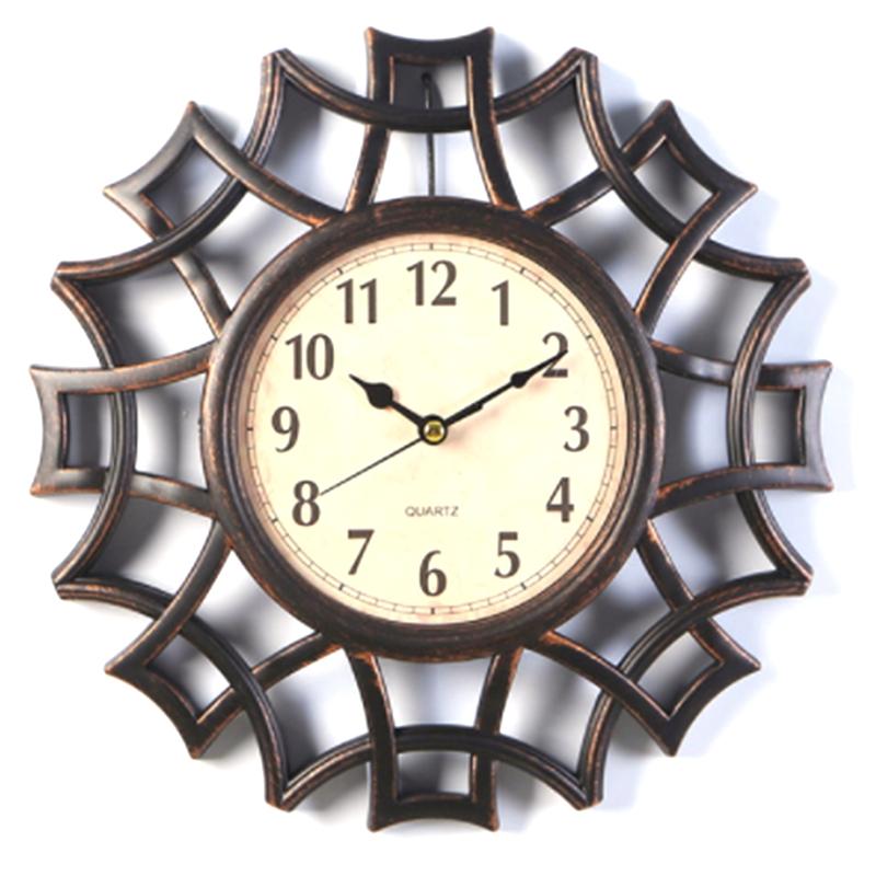 Abstrait-Horloge-Murale-Nordic-Vintage-Chiffre-GeOmeTrique-Horloge-Murale-Q-T7E1 miniature 21