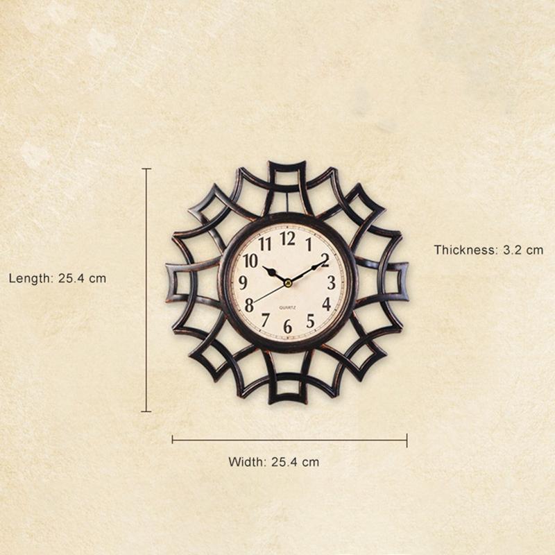 Abstrait-Horloge-Murale-Nordic-Vintage-Chiffre-GeOmeTrique-Horloge-Murale-Q-T7E1 miniature 30