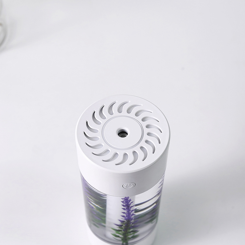 360-Ml-Luftbefeuchter-Lavendel-Landschaft-Usb-Mini-Auto-Luftbefeuchter-Trag-Z8D3 Indexbild 6
