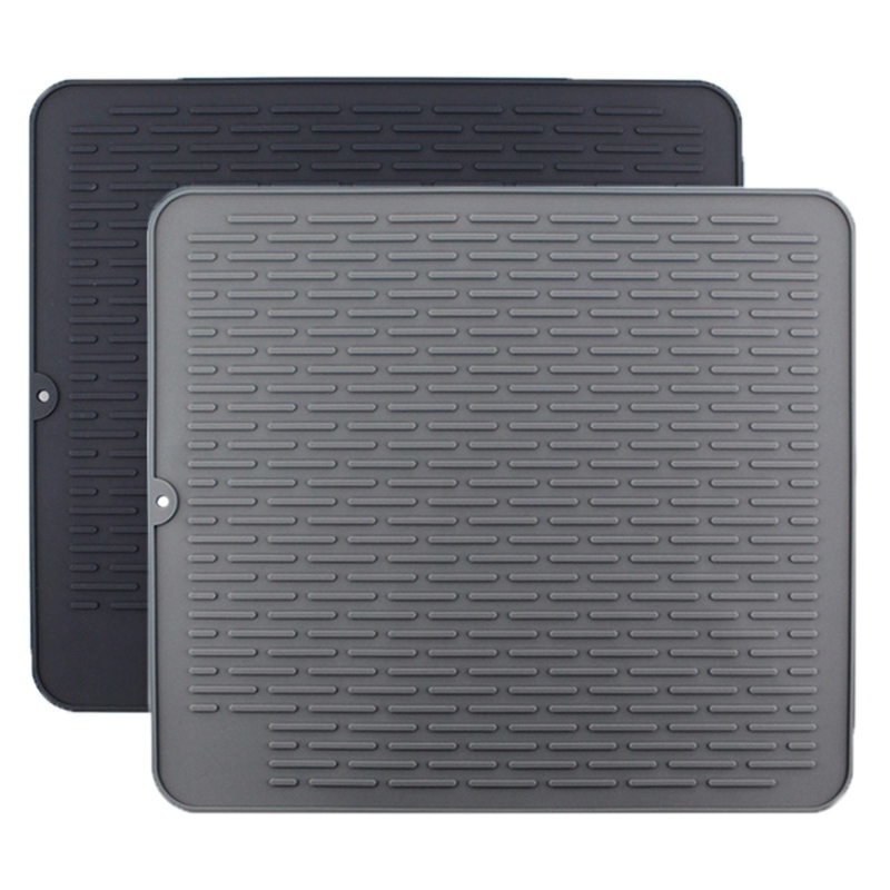 1X-Large-Silicone-Placemat-Dish-Drying-Mat-Kitchen-Draining-Table-Drain-Mat-Y9V9 thumbnail 3