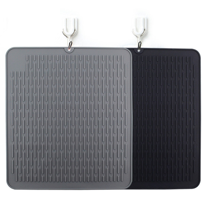 1X-Large-Silicone-Placemat-Dish-Drying-Mat-Kitchen-Draining-Table-Drain-Mat-Y9V9 thumbnail 5