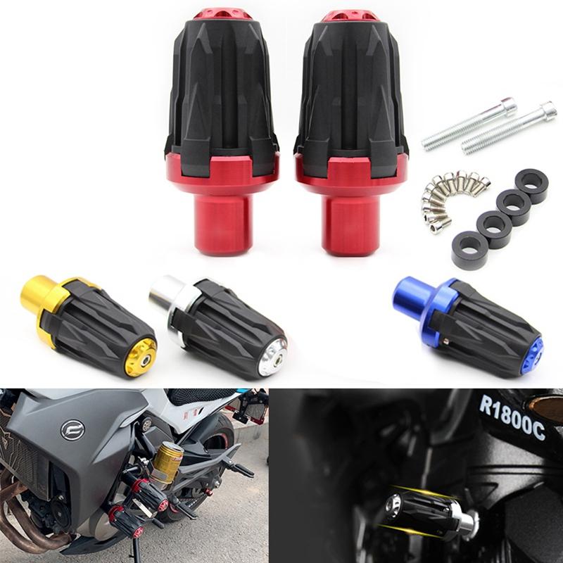 Accessoires-de-Moto-10Mm-Moto-Protecteurs-Antichute-Cadre-D-039-eChappement-Curseur miniature 4