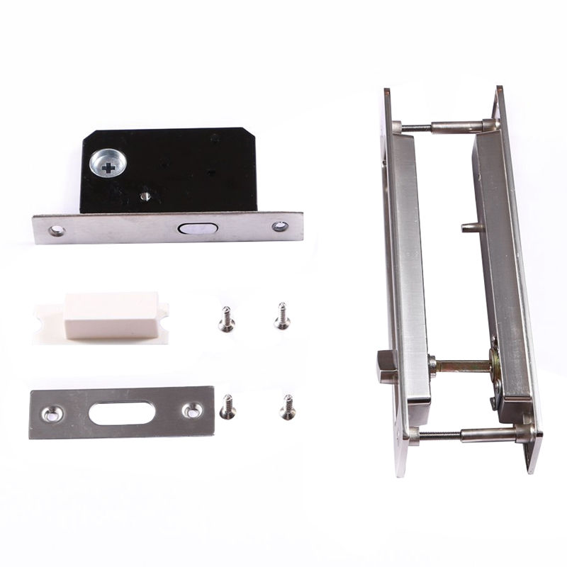 Invisible Sliding Door Latch Locks Handle For Barn Wooden