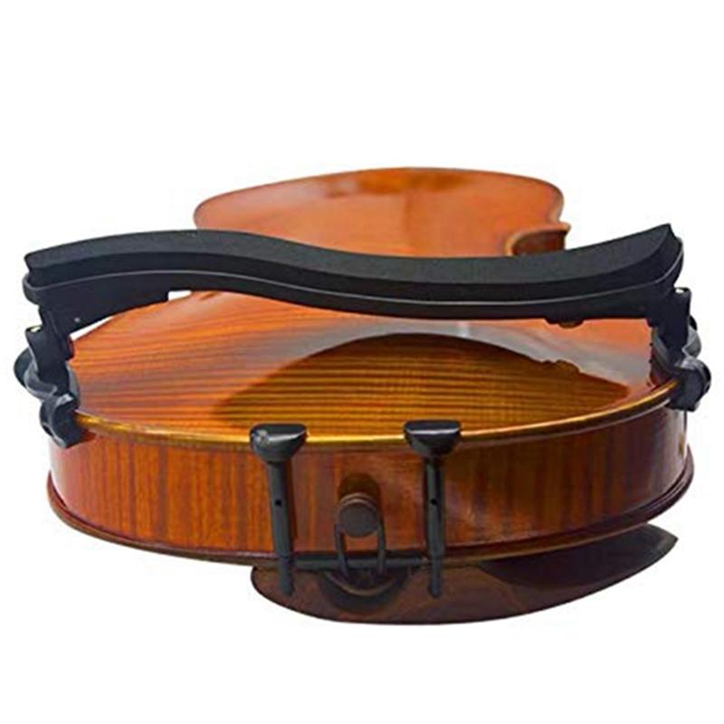 Violine Schulterstütze Einstellbare Pad Unterstützung für Violine 3//4 4//4