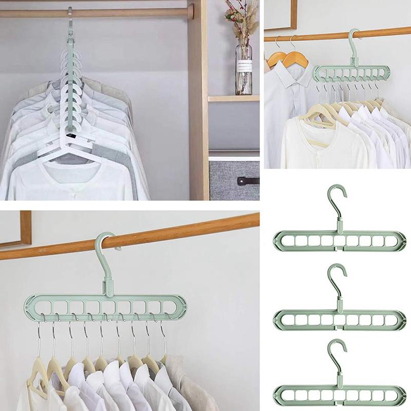 4X-Magic-Hangers-Organizer-Rotate-Anti-Skid-Hanger-Space-Saving-Hangers-Fol9Y6 thumbnail 7