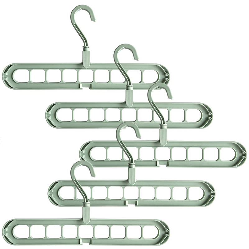 4X-Magic-Hangers-Organizer-Rotate-Anti-Skid-Hanger-Space-Saving-Hangers-Fol9Y6 thumbnail 11