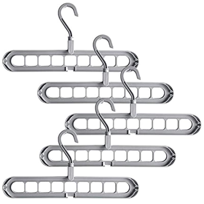 4X-Magic-Hangers-Organizer-Rotate-Anti-Skid-Hanger-Space-Saving-Hangers-Fol9Y6 thumbnail 20