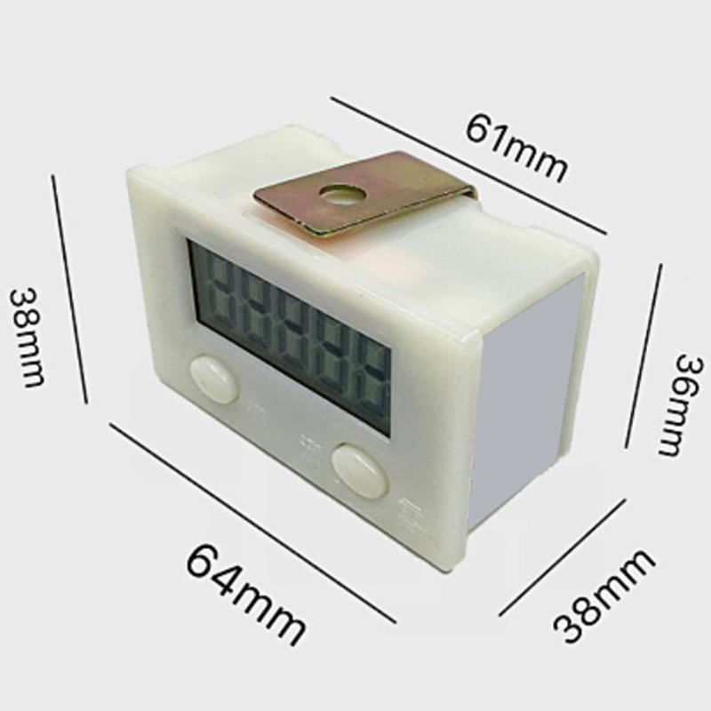 Registre-de-Canalisation-Industriel-MeCanique-de-Compteur-de-Machine-de-Poin-T1O miniature 2