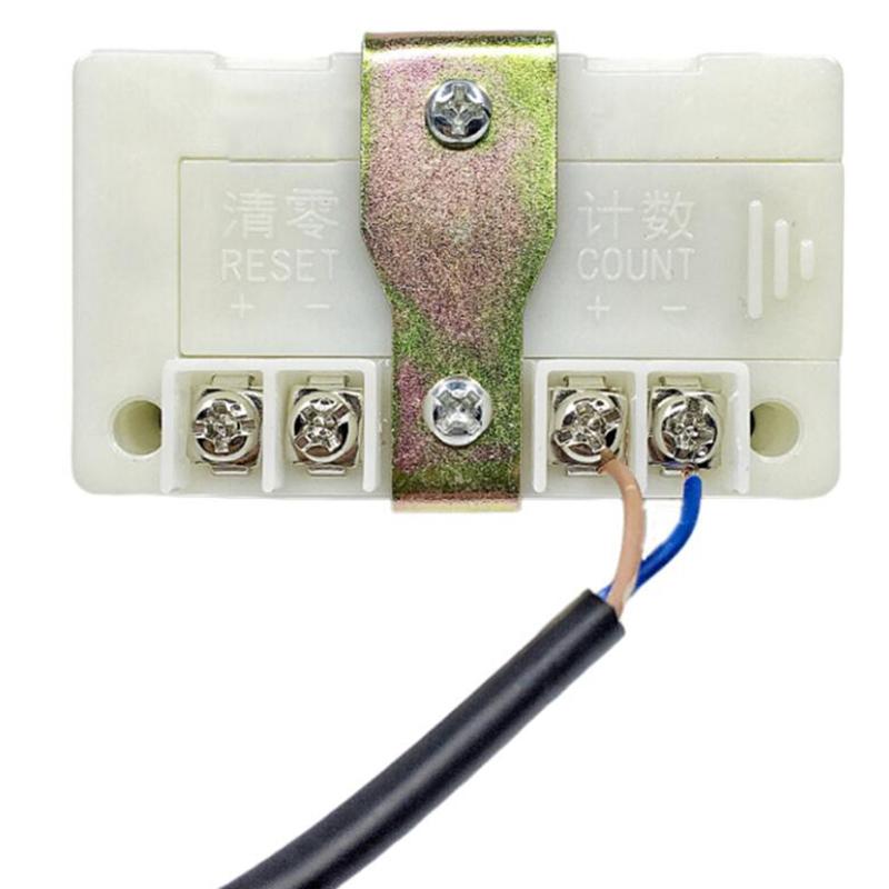 Registre-de-Canalisation-Industriel-MeCanique-de-Compteur-de-Machine-de-Poin-T1O miniature 4