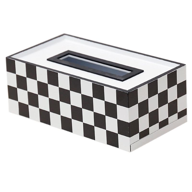 Caja-de-PanUelos-de-Madera-Contenedor-de-PanUelos-Servilleta-Dispensador-de-G3S6 miniatura 2