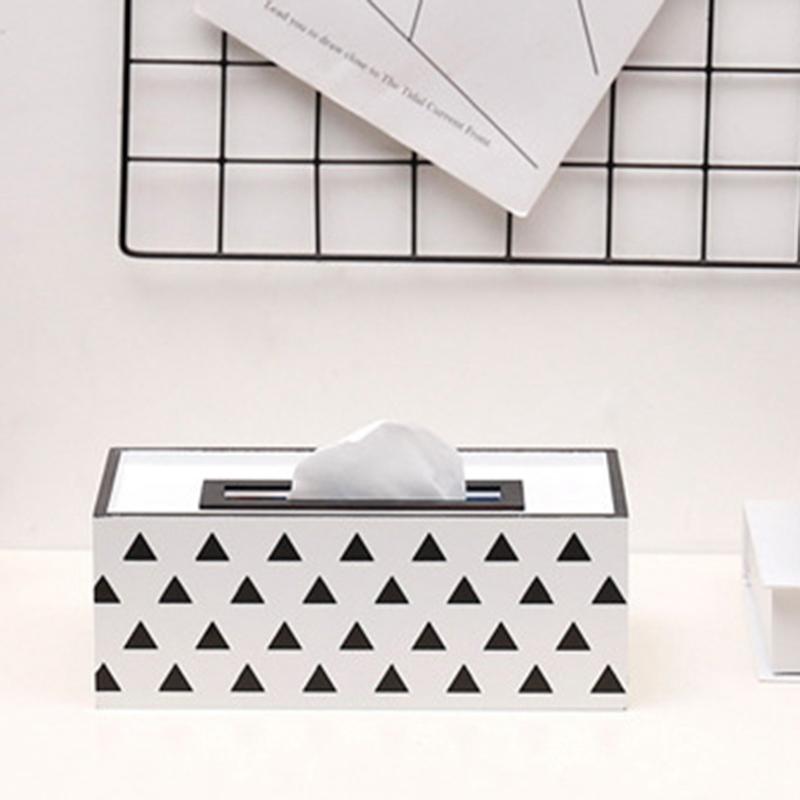 Caja-de-PanUelos-de-Madera-Contenedor-de-PanUelos-Servilleta-Dispensador-de-G3S6 miniatura 16