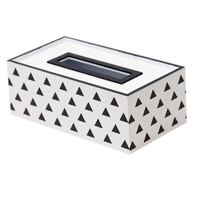 Caja-de-PanUelos-de-Madera-Contenedor-de-PanUelos-Servilleta-Dispensador-de-G3S6 miniatura 19