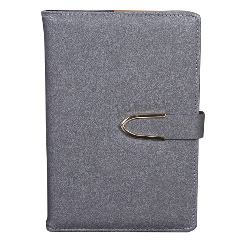 Business-Notepad-Stationery-Holder-A5-Cuero-Libro-de-Mano-Libro-Diario-R5A7 miniatura 22