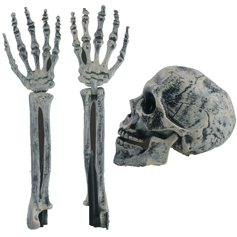 Halloween Skeleton Decorations Halloween Horror Buried