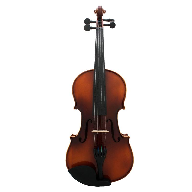 Full-Size-Violine-Retro-Akustische-Geige-Massivholz-Fichte-Ahorn-Furnier-mi-W7X4 Indexbild 3
