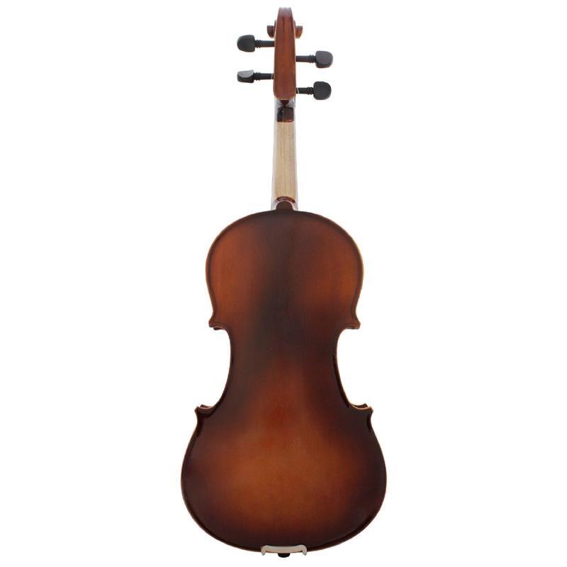 Full-Size-Violine-Retro-Akustische-Geige-Massivholz-Fichte-Ahorn-Furnier-mi-W7X4 Indexbild 4