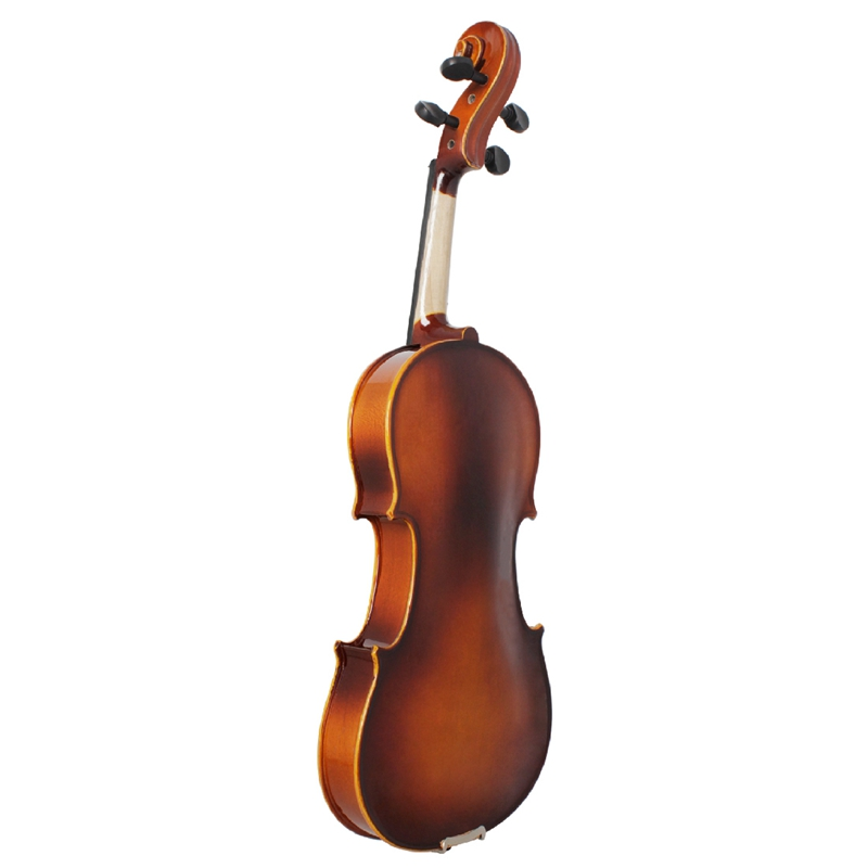 Full-Size-Violine-Retro-Akustische-Geige-Massivholz-Fichte-Ahorn-Furnier-mi-W7X4 Indexbild 5