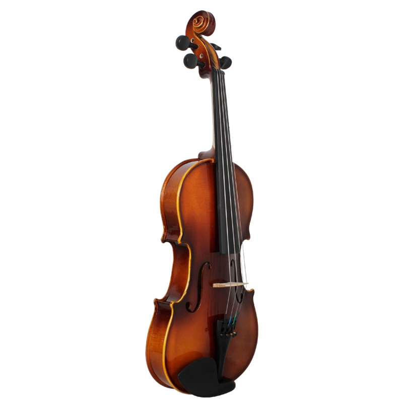 Full-Size-Violine-Retro-Akustische-Geige-Massivholz-Fichte-Ahorn-Furnier-mi-W7X4 Indexbild 6