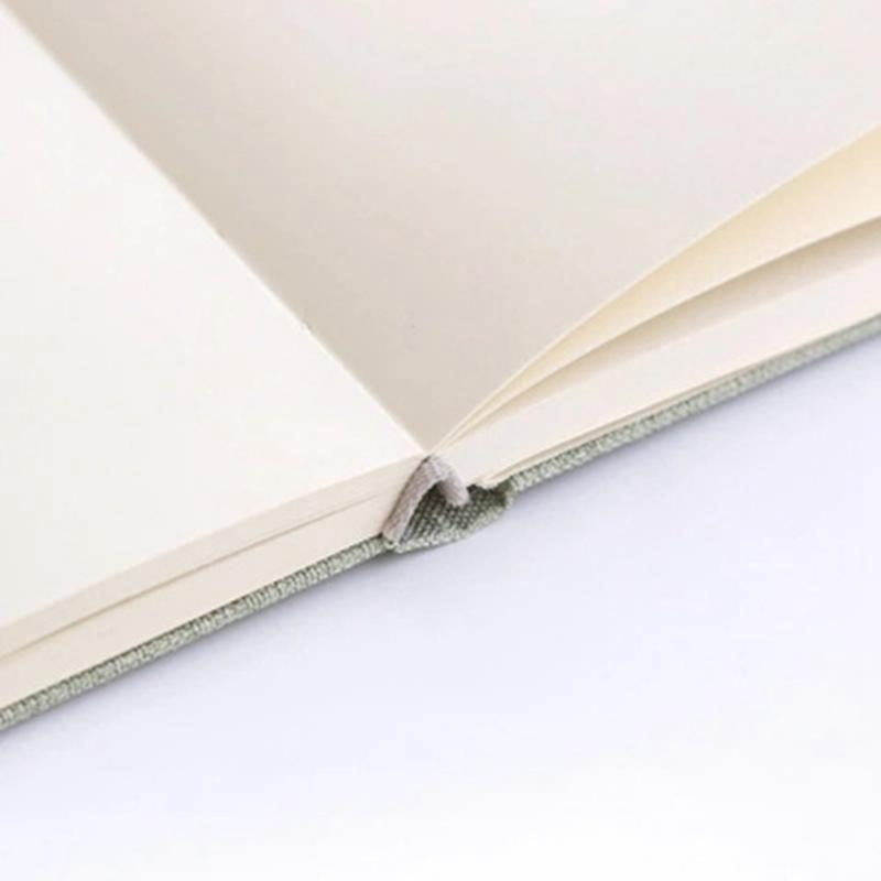 Planificador-Cuaderno-Lino-Pano-Diario-en-Blanco-Cuaderno-Cuaderno-de-Bocetos-Di miniatura 13