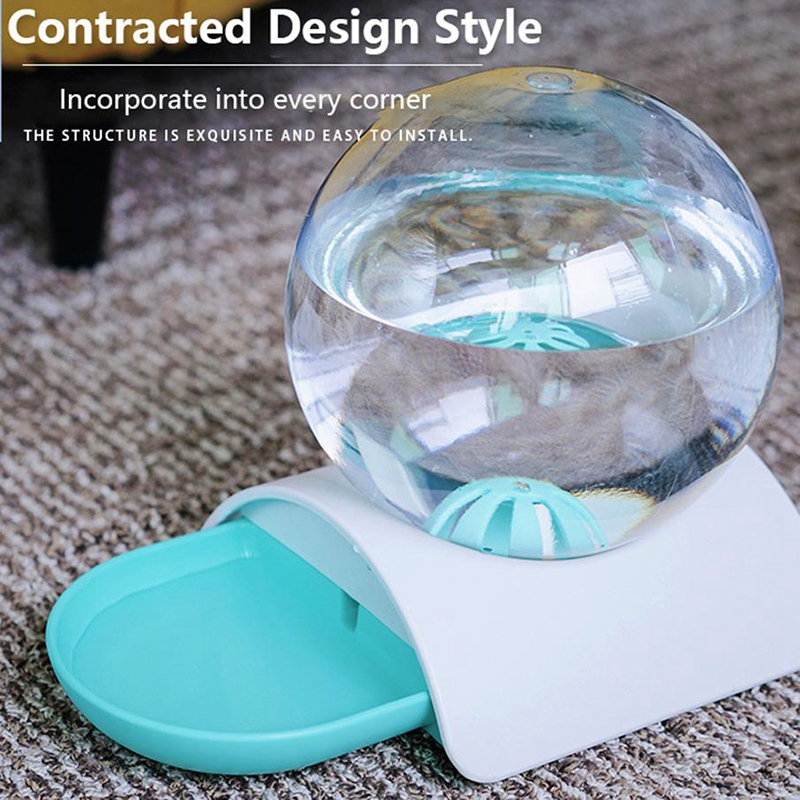 thumbnail 9 - 2.8L Automatic No Wet Mouth Cat Water Fountain Pet Dog Automatic Feeder Pet D8W7