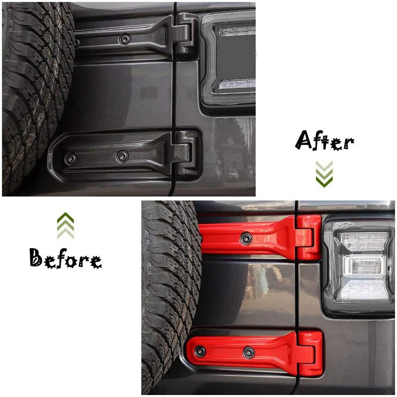 Cache-CharnieRe-de-Support-de-Pneu-de-Rechange-pour-Accessoires-de-Voiture-Jeep miniature 12