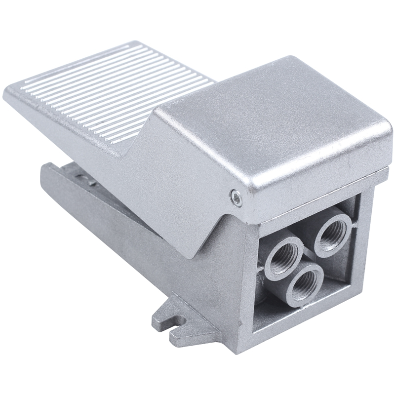 """1//4/""""NPT Nonslip Momentary Pneumatic Foot Pedal Valve Air Switch Free Shipping"""