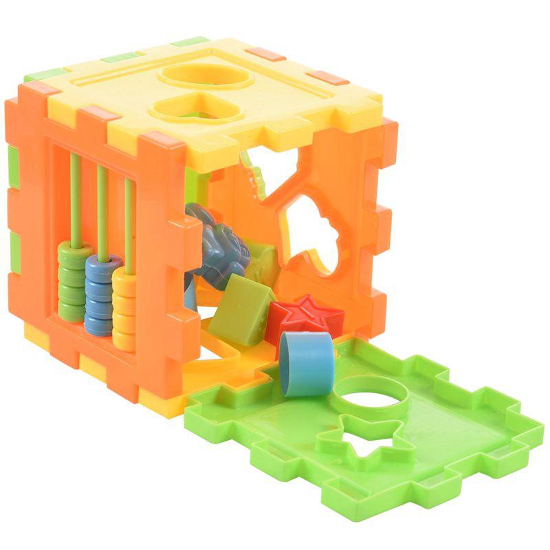 Baby Educational Toy Bricks Matching Block Intelligence  Sorting Box uqYJ